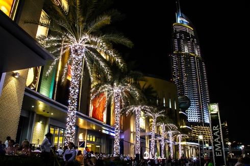 Uma das tantas entradas do Dubai mall!