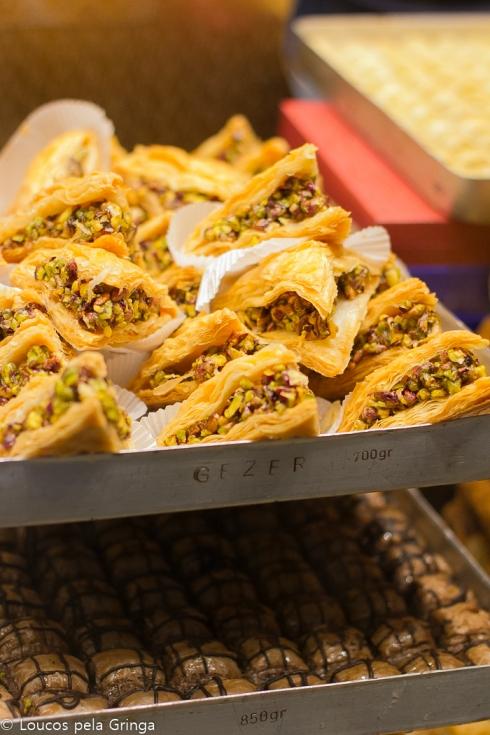 """No Brasil eles são conhecidos como """"doces árabes"""""""